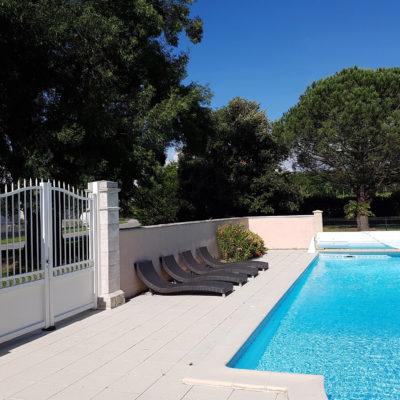 piscine gîtes et chambres d'hôtes La Bertonnière Charente-Martime Tourisme Royan Bordeaux Dune du Pilat Mirambeau